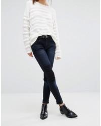Dunkelblaue Enge Jeans von French Connection