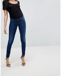 dunkelblaue enge Jeans von G Star