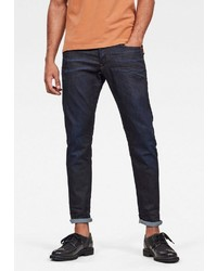 dunkelblaue enge Jeans von G-Star RAW