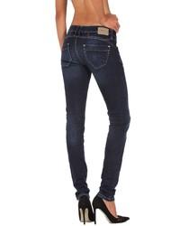 dunkelblaue enge Jeans von Gang