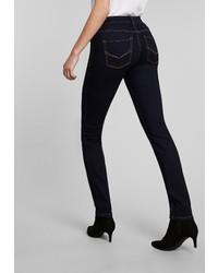 dunkelblaue enge Jeans von H.I.S