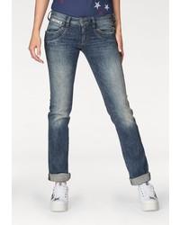 dunkelblaue enge Jeans von Herrlicher