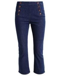 dunkelblaue enge Jeans von J.Crew