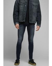dunkelblaue enge Jeans von Jack & Jones