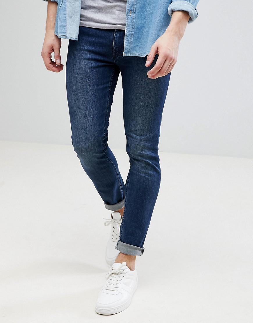 dunkelblaue enge Jeans von KIOMI
