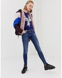dunkelblaue enge Jeans von Love Moschino