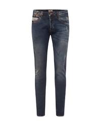 dunkelblaue enge Jeans von LTB