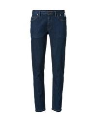 dunkelblaue enge Jeans von Marc O'Polo
