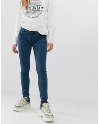 dunkelblaue enge Jeans von Noisy May