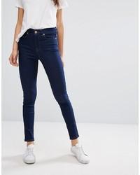 dunkelblaue enge Jeans von Oasis