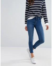 dunkelblaue enge Jeans von Only