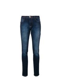 dunkelblaue enge Jeans von Philipp Plein