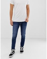 dunkelblaue enge Jeans von Replay