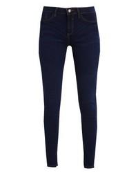 dunkelblaue enge Jeans von River Island