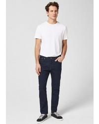 dunkelblaue enge Jeans von s.Oliver BLACK LABEL