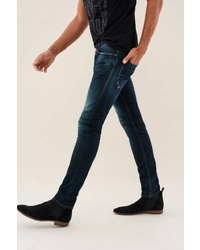 dunkelblaue enge Jeans von SALSA