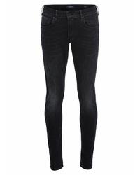 dunkelblaue enge Jeans von Scotch & Soda