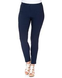 dunkelblaue enge Jeans von SHEEGO BASIC