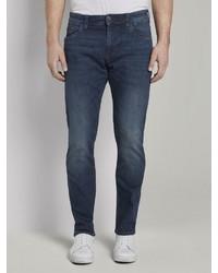 dunkelblaue enge Jeans von Tom Tailor