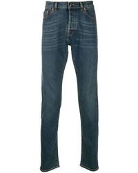 dunkelblaue enge Jeans von Valentino