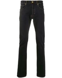 dunkelblaue enge Jeans von Versace