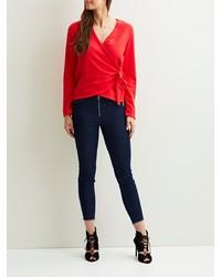 dunkelblaue enge Jeans von Vila