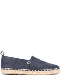 dunkelblaue Espadrilles von Loewe