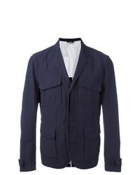 dunkelblaue Feldjacke von Dolce & Gabbana