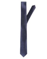 dunkelblaue gepunktete Krawatte von akzente