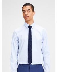dunkelblaue gepunktete Krawatte von Jack & Jones