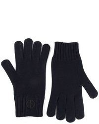 dunkelblaue Handschuhe
