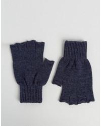 dunkelblaue Handschuhe von Asos