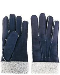 dunkelblaue Handschuhe von Canali