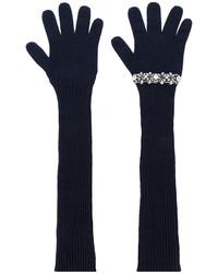dunkelblaue Handschuhe von No.21