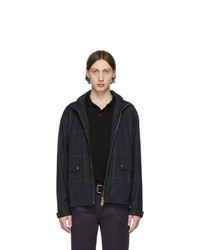 dunkelblaue Harrington-Jacke von Paul Smith