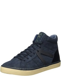 dunkelblaue hohe Sneakers von Esprit