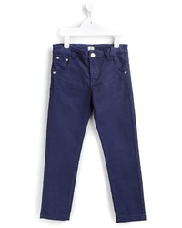 dunkelblaue Hose von No Added Sugar