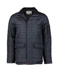 dunkelblaue Jacke mit einer Kentkragen und Knöpfen von REDPOINT