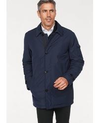 dunkelblaue Jacke mit einer Kentkragen und Knöpfen von Roy Robson