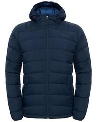 dunkelblaue Jacke von The North Face
