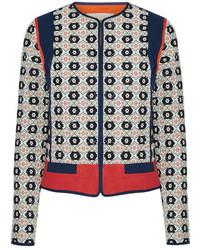 dunkelblaue Jacke von Tory Burch