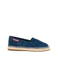 dunkelblaue Jeans Espadrilles von DSQUARED2