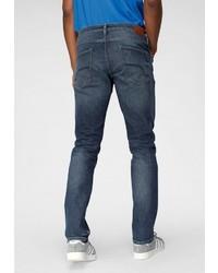 dunkelblaue Jeans mit Destroyed-Effekten von Esprit