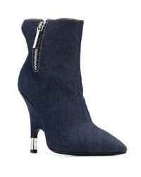 dunkelblaue Jeans Stiefeletten von Giuseppe Zanotti Design
