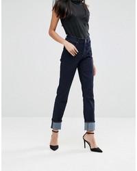 Dunkelblaue Jeans von A Gold E