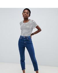 dunkelblaue Jeans von Asos Petite