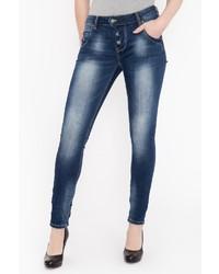 dunkelblaue Jeans von BLUE MONKEY
