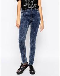 Dunkelblaue Jeans von Cheap Monday