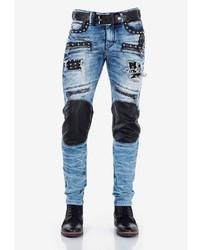 dunkelblaue Jeans von Cipo & Baxx