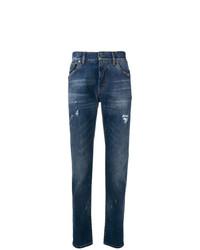 dunkelblaue Jeans von Dolce & Gabbana